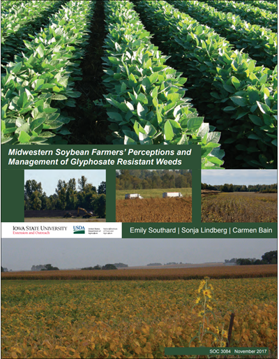Midwestern Soybean Farmers' Perceptions and Management of Glyphosate Resistant Weeds